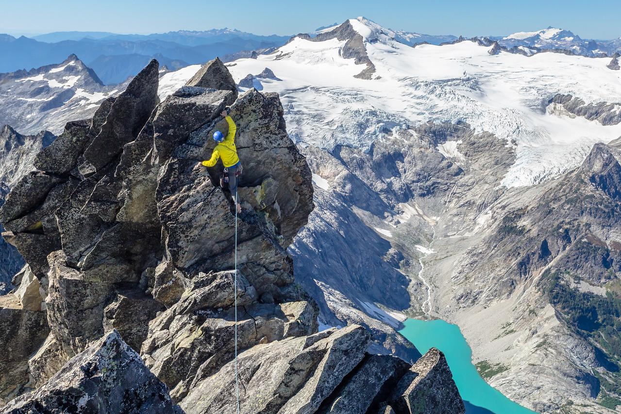 Climbing the West Ridge of Forbidden Peak in the North Cascades, WA - Sept 2014