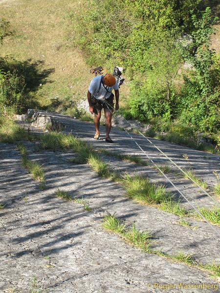 2012-09 Climbing in Freyr (B)