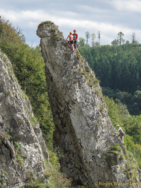 Climbing with NKBV