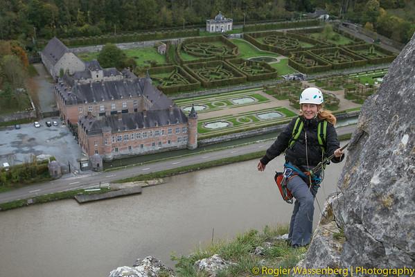 2013-10 Climbing in Freyr (B)
