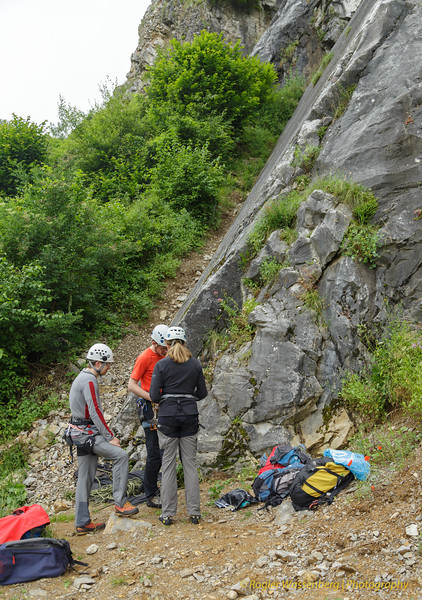 2016-07 Climbing in Les Awirs