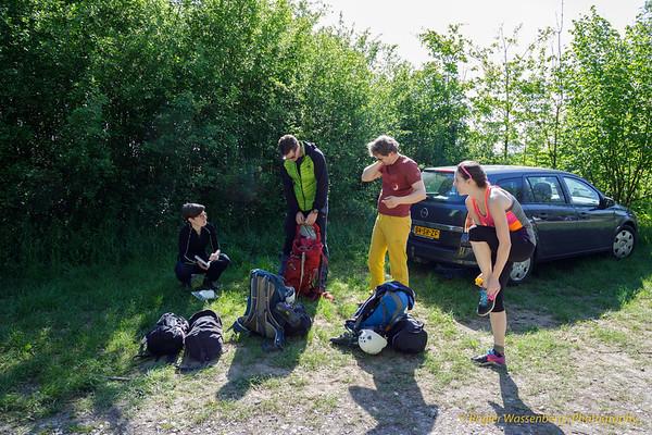 2018-05-04 Exams-Climbing in Freyr