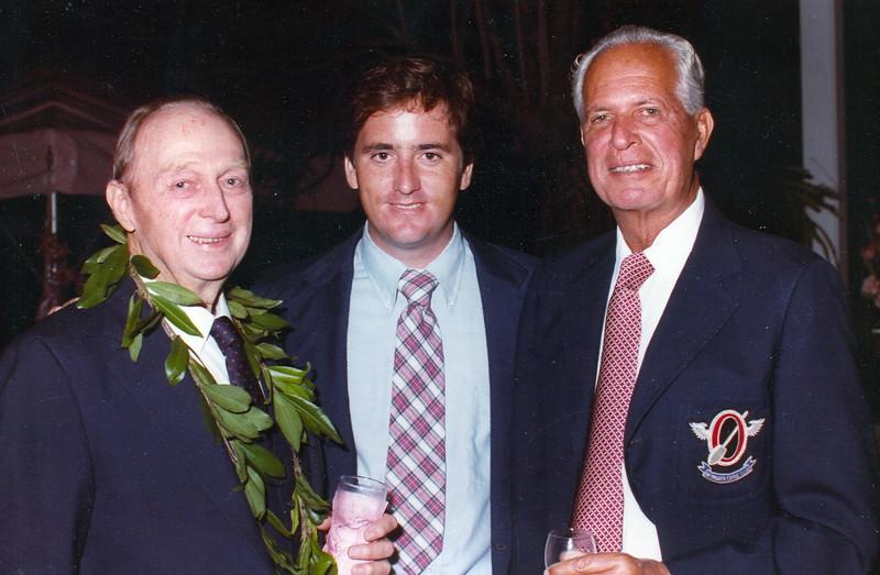 Unidentified, Brad Martin and Cline Mann