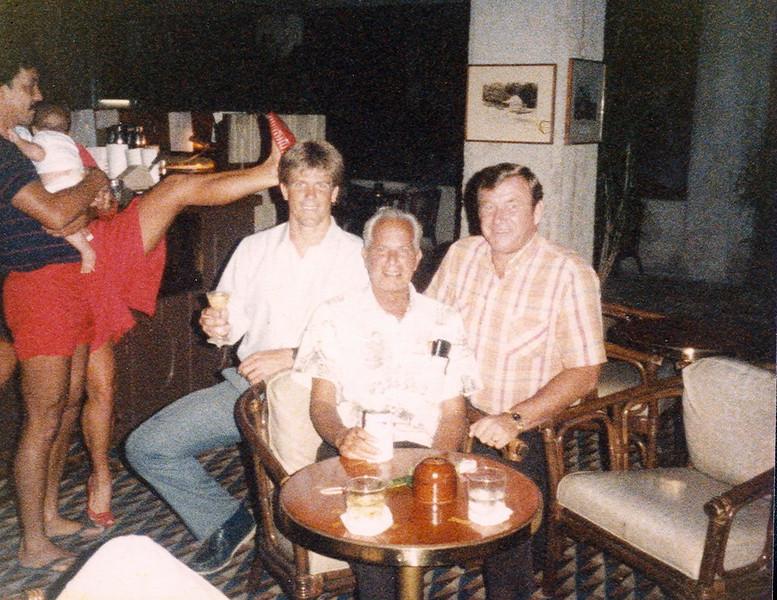 Marc Haine, Cline Mann and Tom Haine