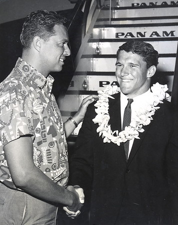 1965 Cline Mann and Fred Hemmings Jr.