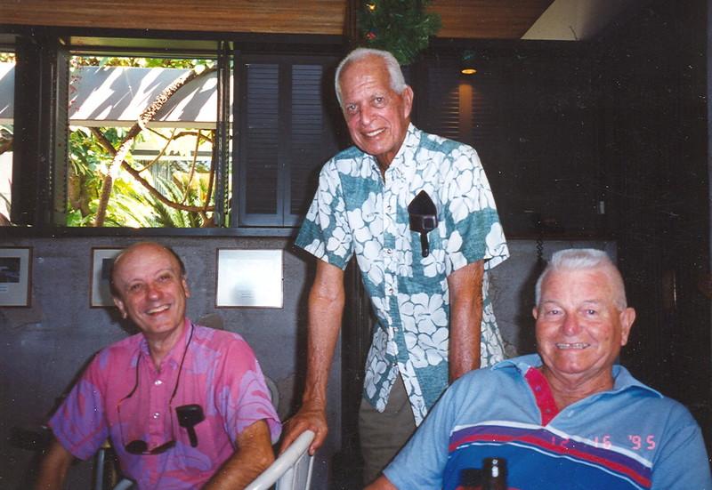 Dean Eyre, Cline Mann and Buck Schmuck