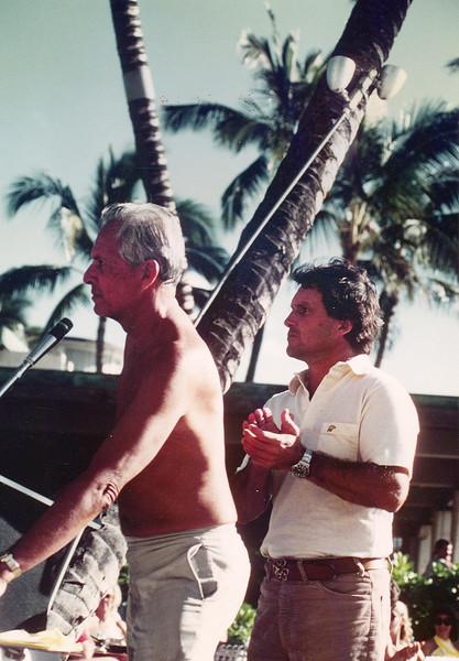 Cline Mann and Bill Eggers
