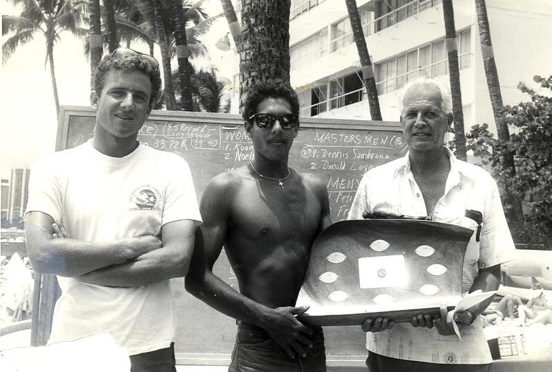 1986 Cline Mann 5K Paddleboard Race