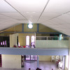 This is a photo of the original clinic space built on the right side of the church's balcony. One year later, the clinic had expanded to the entire balcony space and included a lab, a dental clinic, a waiting room and bathroom. New floors and ceilings and an entrance directly to the outside were added as well. In late 2009, our thoughts would turn to larger and more appropriate space.