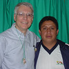 Our Director David Guacho is Paul's right.... and left hand in Ecuador.  We owe much of the clinic's success to his creativity, resourcefulness, dedication and compassion.  He is a remarkable man.