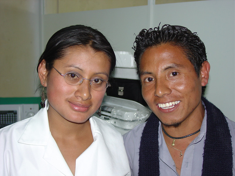 Clinica Dulce Refugio is blessed to have these two talented, energetic and dedicated young people.