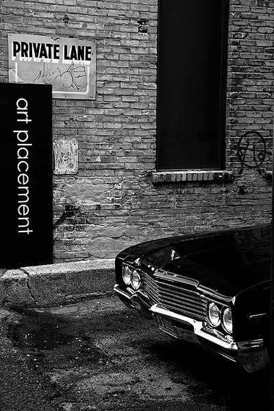 Intermediate - Black & White  Whats Hiding in Saskatoon Back Alley Scott Prokop    Score: 25.0/30  Print of the Month  Canon 40D, f5, ISO200, 38mm