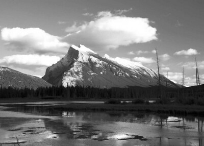 I-BW-Mount_Rundle-HoltkampH