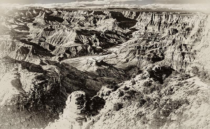 BW-Historic Grand Canyon-Scott Prokop