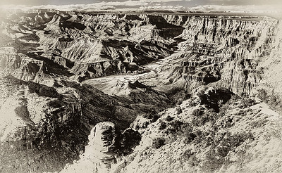 BW-Historic Grand Canyon-Scott Prokop