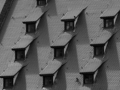 BW-Roof Tile Patterns-Howard Brown