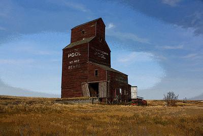 TR-A Prairie Classic-Dale Read-Print