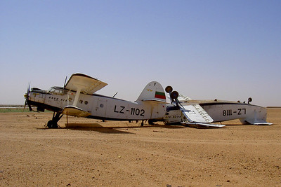 TR-Junked Aircrafts in Agadez, Niger-Yoann Richard