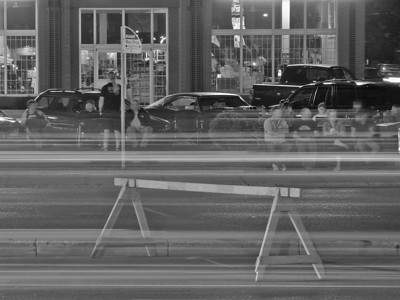 BW-Watching All The Cars Go By-Ian Sutherland