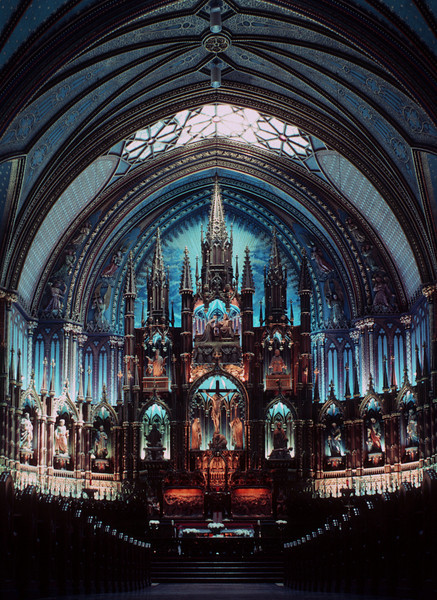 TR-Norte Dame Cathedral, Montreal-Frank Johnson