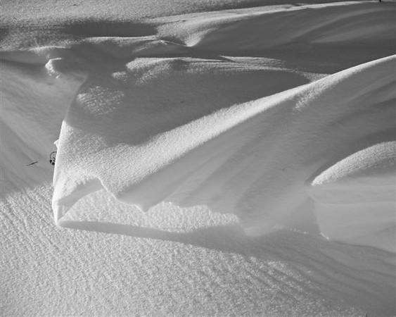 BW-Snow Drift-Howard Brown-Print