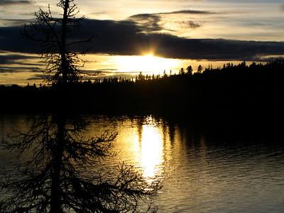 TR-Sunset at French Lake-Stephen Nicholson