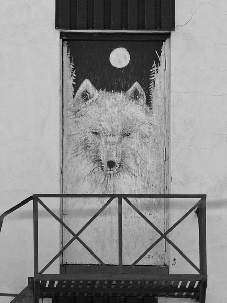 BW-There Is A wolf At The Door-Ian Sutherland