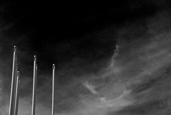 BW-Sky Needles-Helen Brown