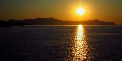 SC-Santorini Sunset-Stephen Nicholson
