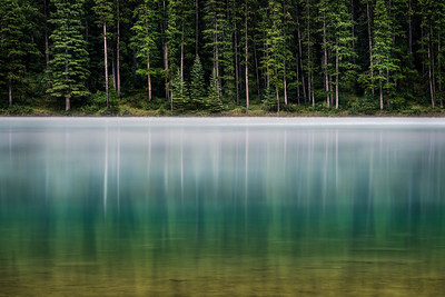 1Print-TR-Morning Mist on Two Jack Lake-Michael Murchison