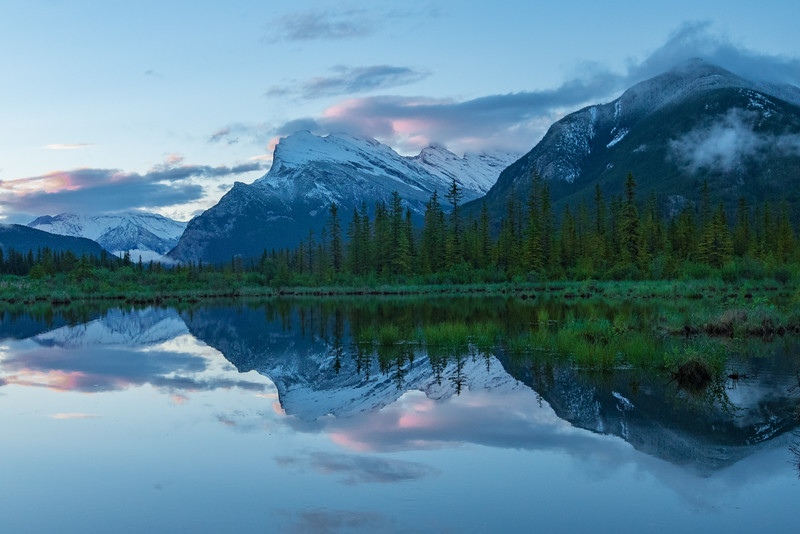 1Print-SC-Morning Comes Softly On The Vermilion Lakes-Mary Lou Fletcher
