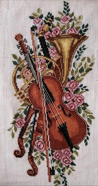 X Stitch Detail-Duncan Myers