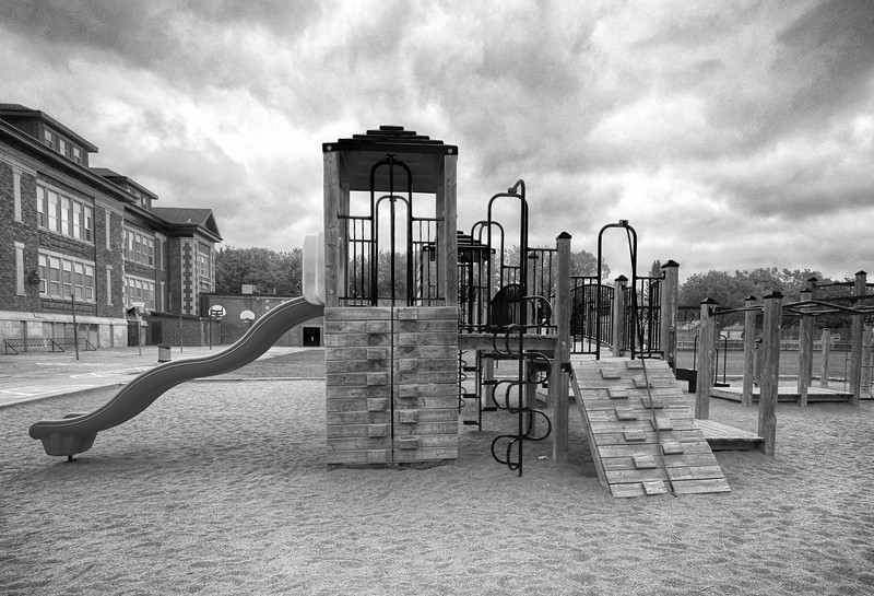 2-BW-Old School New Playground-Barry Singer