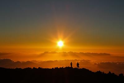 1-SC-Sunset Atop Mount Haleakala-Cathleen Mewis