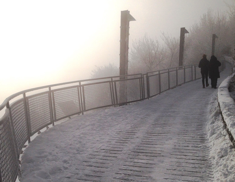 2-Ice Fog Walkers And Watchers-Richard Kerbes
