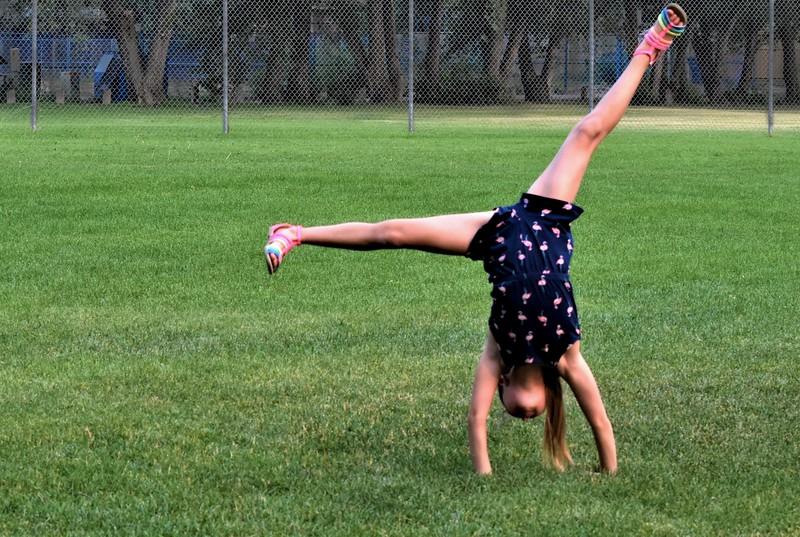 Cartwheeling Around-Helen Brown