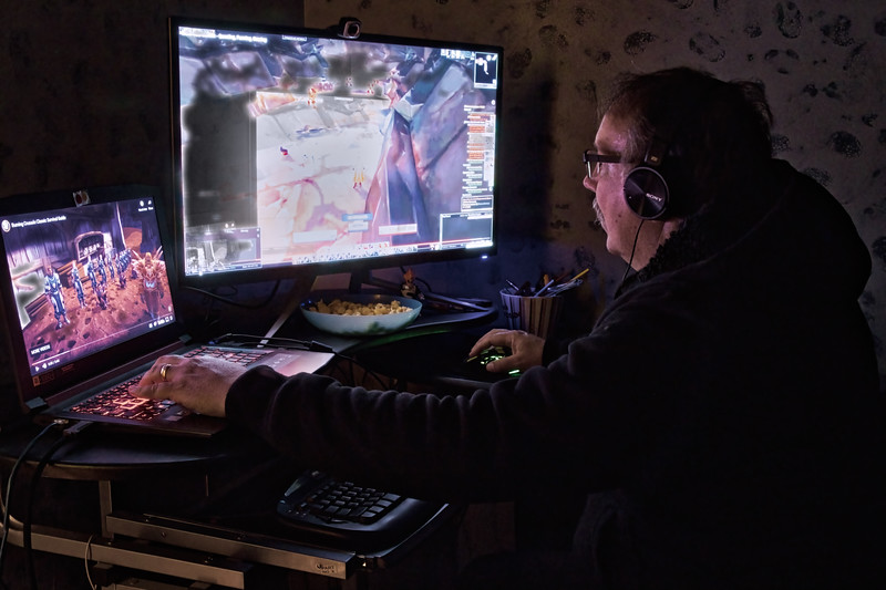 Gaming Glow-Rob Arthur