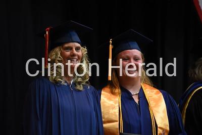 Clinton Community College graduation 5-17-17