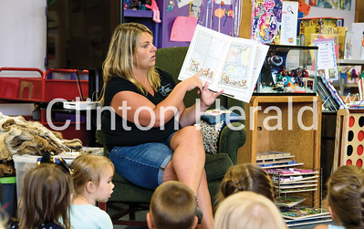 Clinton County Conservation at Camanche Library 8-8-18