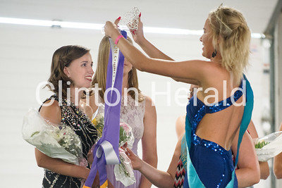 Clinton County Fair royalty coronation 7-13-17
