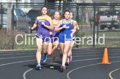 Clinton Early Bird girls track meet (3-29-16)
