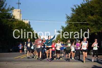 Clinton Half Marathon 9-9-18