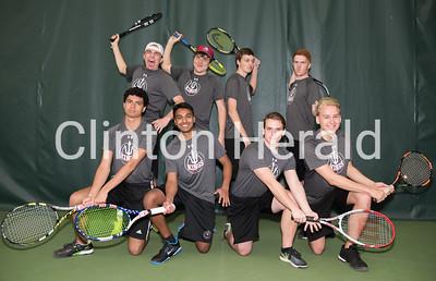 Clinton High School Tennis 4-5-17