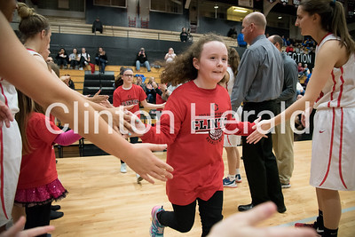 Clinton High School basketball Elementary Night 2-7-17