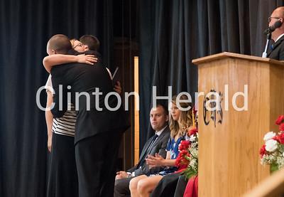 Clinton High School graduation 5-28-17