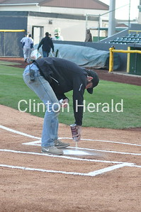 Clinton LumberKings home-opener (4-9-16)