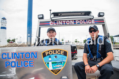 Clinton Police boat 7-11-17