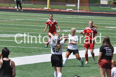 Clinton girls regional soccer (5-28-16)
