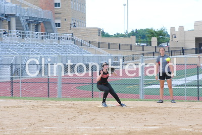 Clinton playoff softball at Dubuque Senior (7-7-16)