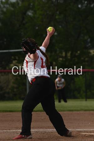 Clinton Vs Davenport West Girls Softball 5 29 18 Clinton Herald